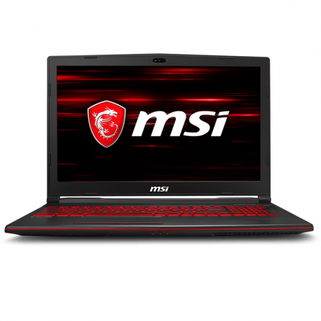 "MSI GL63 8RC-252 15.6"" FHD Gaming Laptop (i7-8750H, 4GB, 1TB, GTX1050 4GB, DOS)"