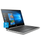 "HP Pavilion x360 14-cd1012TX 14"" Touch Laptop Silver ( i3-8145U, 4GB, 500GB, MX130 2GB, W10)"