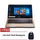 "JOI Book 150 14.1"" FHD IPS Laptop Gold ( N4100, 4GB, 32GB+128GB, Intel, W10H )"