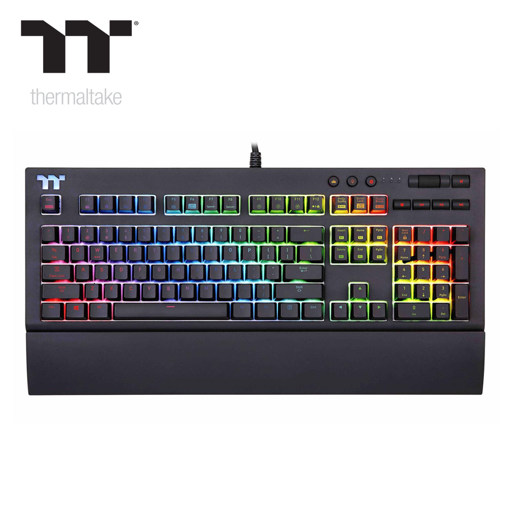 Thermaltake Tt Premium X1 Cherry Mx Speed Silver Keyboard