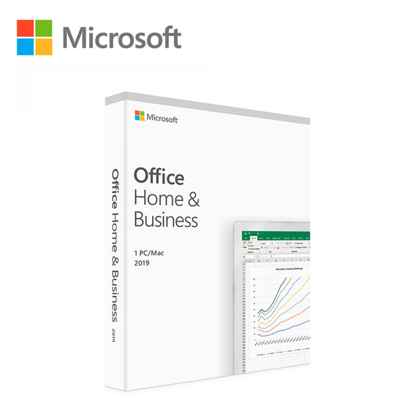 Microsoft Office 2019 Home & Business - 1User (Outlook / Word / Excel /  PowerPoint)