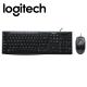 Logitech MK200 Media Desktop Wired Keyboard Mouse Combo (920-002693)