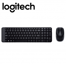 Logitech MK220 Wireless Keyboard Mouse Combo (920-007444)