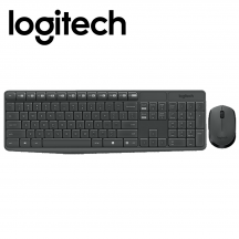 Logitech MK235 Wireless Keyboard Mouse Combo (920-007937)