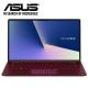 "Asus Zenbook UX333F-NA4162T 13.3"" FHD Laptop Burgundy Red (i5-8265U, 8GB, 512GB, MX150 2GB, W10)"