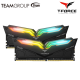 TeamGroup Night Hawk RGB 16GB DDR4 Desktop Ram White ( Kit of 2 )