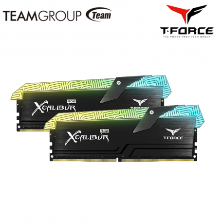 TeamGroup Night Hawk RGB 16GB DDR4 Desktop Ram Black ( Kit of 2 )