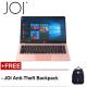 "JOI Book 100 14.1"" FHD Laptop Rose Gold ( N3450, 4GB, 32GB+128GB, Intel, W10H )"