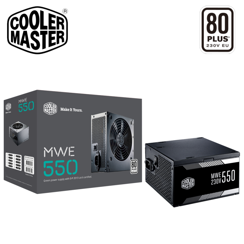 Image result for Cooler Master MWE 550