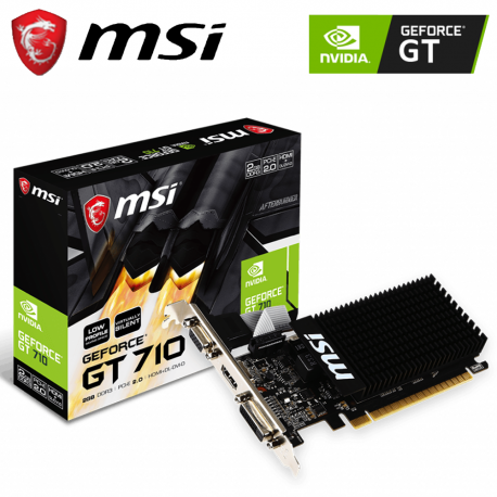 MSI GT 710 2GD3H LP DDR3 Graphic Card