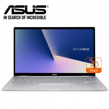 "Asus Zenbook Flip 14 UM462D-AAI047T 14"" FHD Multi-Touch Laptop Light Grey ( R5-3500U, 8GB, 256GB, Intel, W10 )"