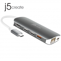 j5create JCD384 USB-C Multi Adapter
