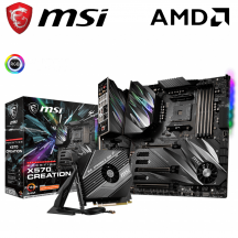 MSI Prestige X570 Creation WIFI Motherboard (AMD AM4)