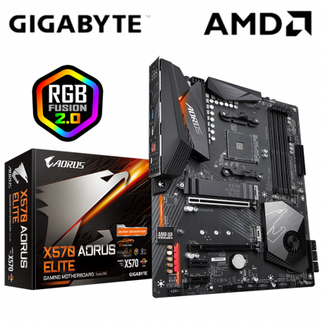 Gigabyte X570 Aorus Elite Motherboard (AMD AM4)