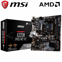 MSI A320M-PRO-M2 V2 Motherboard (AMD AM4)