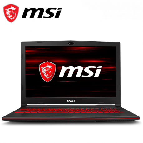 "MSI GL63 9RDS-862 15.6"" FHD Gaming Laptop ( i5-9300H, 8GB, 256GB, GTX1050 Ti 4GB, W10 )"