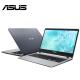 "Asus Vivobook A507M-ABR381T 15.6"" Laptop Grey ( Celeron N4000, 4GB, 256GB, Intel, W10 )"