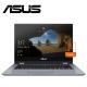 "ASUS VivoBook Flip 14 TP412F-AEC233T 14"" FHD Touch Laptop Silver Blue ( i3-8145U, 4GB, 256GB, Intel, W10 )"