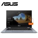 "ASUS VivoBook Flip 14 TP412F-AEC302T 14"" FHD Touch Laptop Silver Blue ( i3-8145U, 4GB, 512GB, Intel, W10 )"
