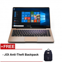 "JOI Book 150 14.1"" FHD IPS Laptop Gold ( N4100, 4GB, 32GB+128GB, Intel, W10H )"