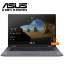 "ASUS VivoBook Flip 14 TP412F-AEC301T 14"" FHD Touch Laptop Grey ( i3-8145U, 4GB, 512GB, Intel, W10 )"