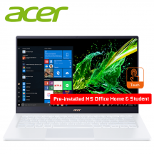 "Acer Swift 5 SF514-54T-50GD 14"" FHD IPS Touch Laptop Moonstone White ( i5-1035G1, 8GB, 512GB SSD, Intel, W10 )"