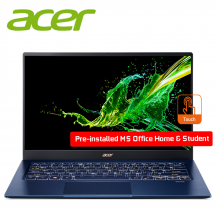"Acer Swift 5 SF514-54T-52AS 14"" FHD IPS Touch Laptop Charcoal Blue ( i5-1035G1, 8GB, 512GB SSD, Intel, W10 )"