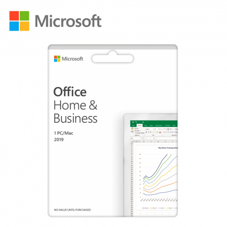 Microsoft Office 2019 Home & Business (ESD Version) - 1User (Outlook / Word / Excel / PowerPoint)