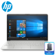 "HP 15s-du0020TX 15.6"" Laptop Silver ( i3-7020U, 4GB, 1TB, MX110 2GB, W10 )"