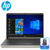 "HP 14s-cf0125TU 14"" Laptop Pale Gold ( Celeron N4000, 4GB, 256GB, Intel, W10 )"