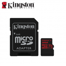 Kingston Canvas React SDCR Class 10 U3 UHS-I microSDHC/SDXC Memory Card