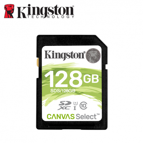 Kingston Canvas Select SDS Class 10 UHS-I SDHC/SDXC SD Card
