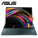 "Asus Zenbook Pro Duo UX581G-VH2033T 15.6"" 4K UHD Touch Laptop Celestial Blue ( i7-9750H, 32GB, 1TB SSD, RTX2060 6GB, W10 )"