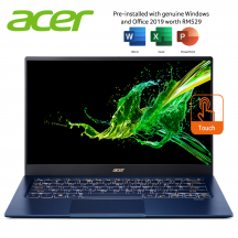 "Acer Swift 5 SF514-54GT-51WA 14"" FHD IPS Touch Laptop Charcoal Blue ( i5-1035G1, 8GB, 512GB SSD, MX250 2GB, W10 )"