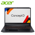 "Acer ConceptD 5 Pro CN515-71P-757C 15.6"" 4K UHD Laptop Black ( i7-9750H, 16GB, 512GB SSD, Quadro RTX3000 6GB, W10P )"