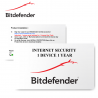 Bitdefender Internet Security 2020 1 User 1 Year - E-Card