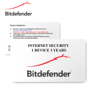 Bitdefender Internet Security 2020 1 Device 3 Years - E-Card