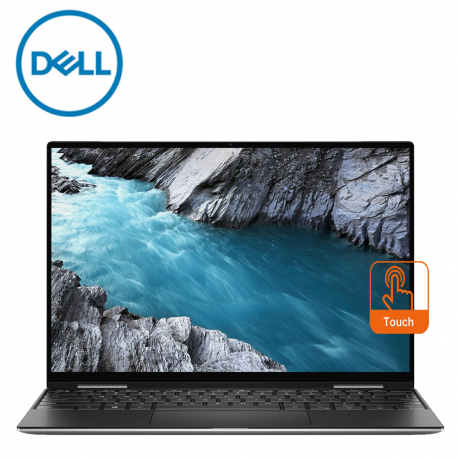 "Dell XPS13C-65165SG-UHD (7390S) 13.4"" UHD+ Touch Laptop Silver ( i7-1065G7, 16GB, 512GB, Intel, W10 )"
