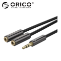 Orico AM‐2F2 3.5mm Audio Splitter Cable