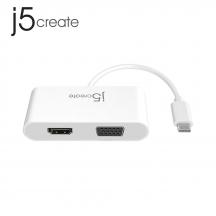 j5create JCA174 USB Type-C to HDMI & VGA Multi Adapter