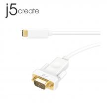 j5create JCC111 USB Type-C to VGA Cable