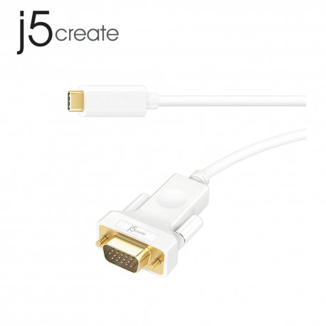 j5create JCC111 USB Type-C to VGA Cable