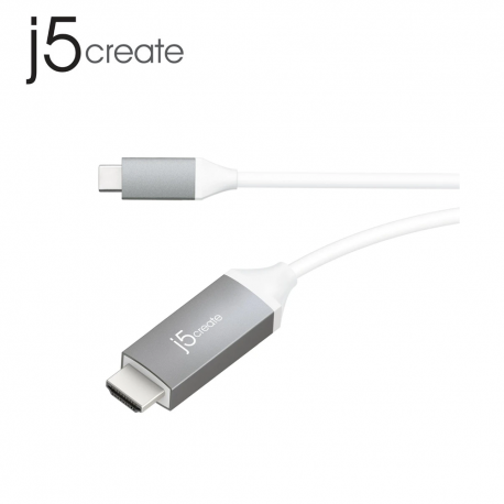 j5create JCC153G USB Type-C to 4K HDMI Cable