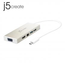 j5create JCD376 USB 3.1 Type-C Fully Functional Mini Dock