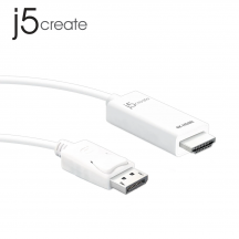 j5create JDC158 DisplayPort to 4K HDMI Cable