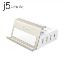 j5create JUP4275 4-Port PD Super Charging Station Power