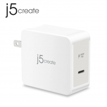 j5create JUP1230F 30W 1-Port PD USB-C Mobile Charger Power Delivery