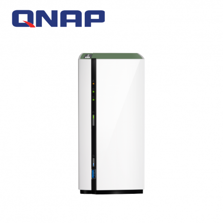QNAP TS-228A 2-Bay Lightweight and Powerful Entry-Level NAS