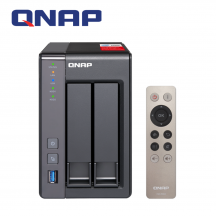 QNAP TS-251+ 2-Bay Lightweight and Powerful High-end NAS ( TS-251+-2G )