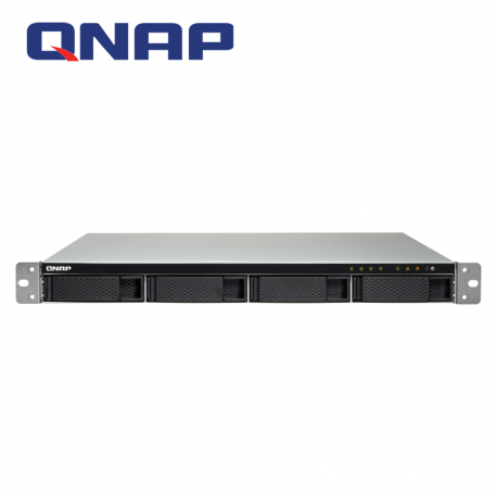 QNAP TS-432XU-RP-2G & RAIL-B02 4-Bay Powerful Entry-level Rackmount NAS